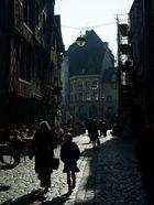 Vie de Jours Pour une rue de la nuit
