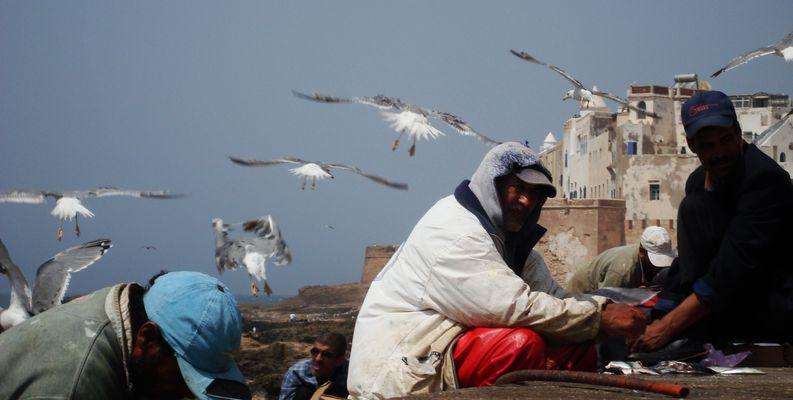 vie de pêcheurs