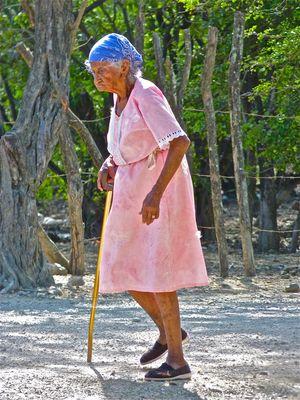 Vieille dame - Popoyo - Nicaragua