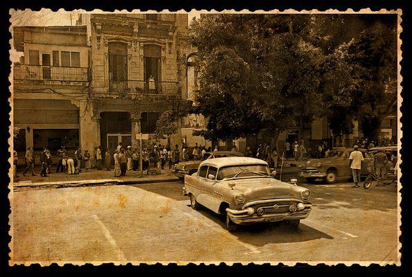 Vieja foto de La Habana
