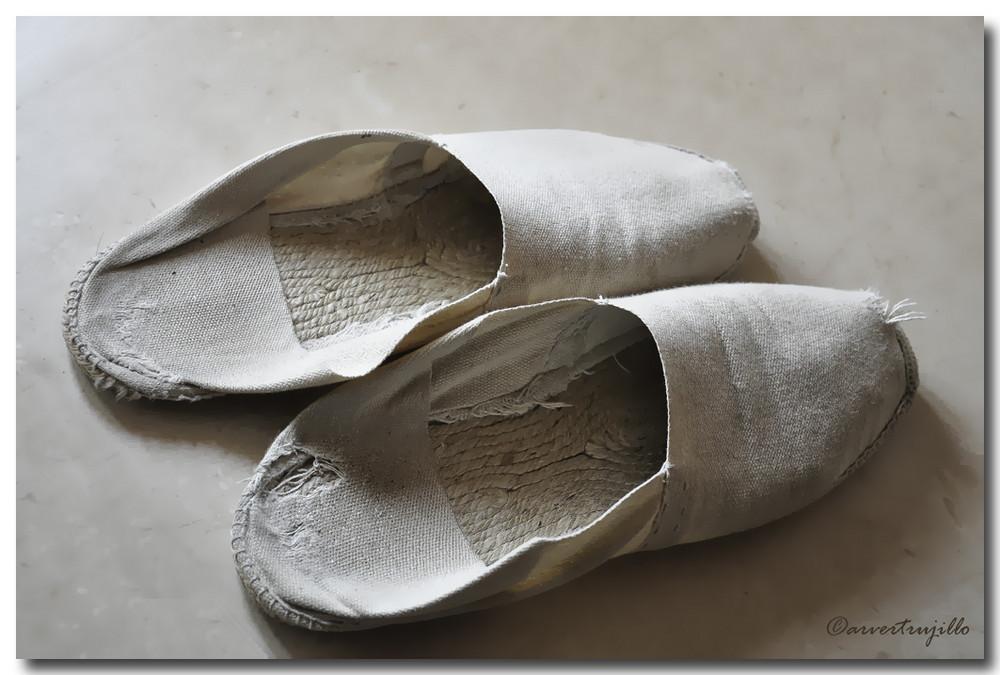 Viejas zapatillas...