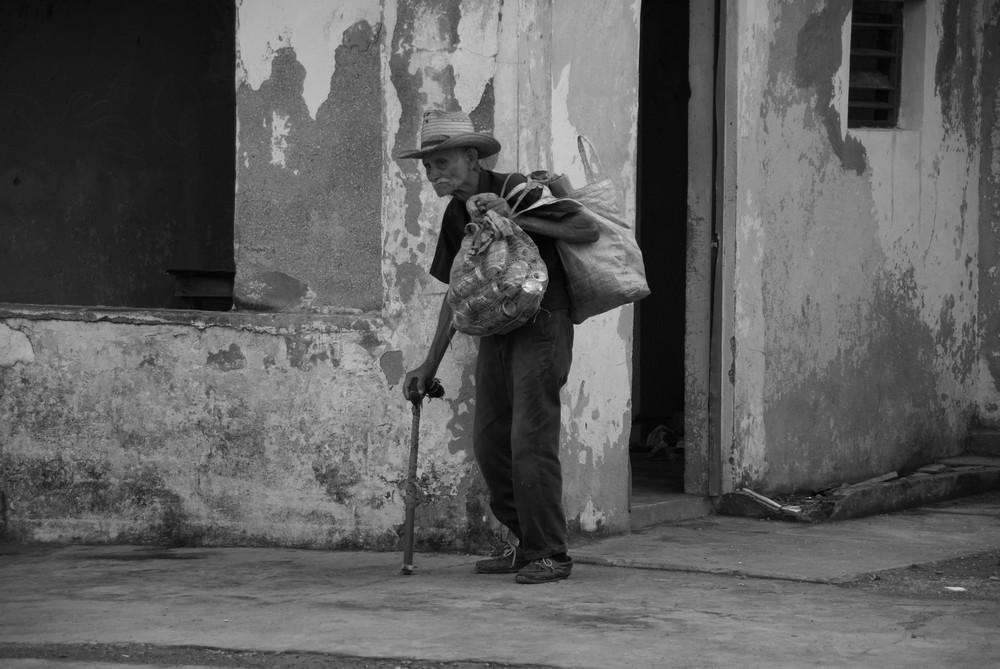 Viejo en Baracoa