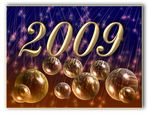 Viel Glück im Jahr 2009