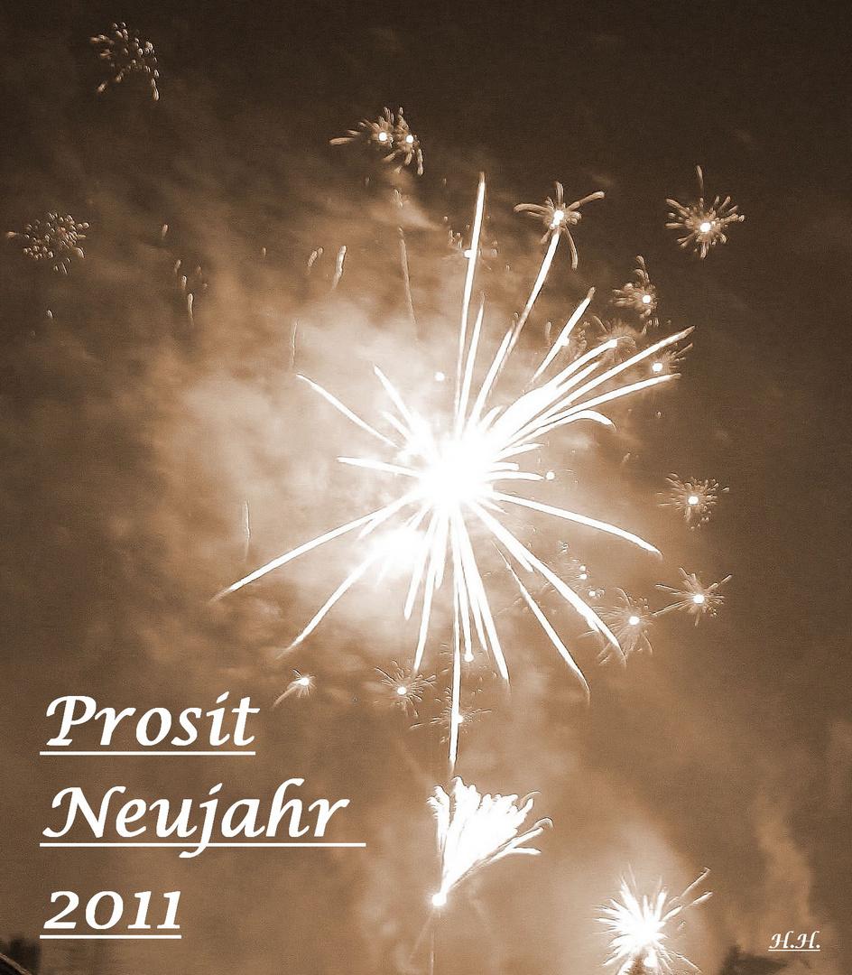 Viel Glück und Gesundheit im Neuen Jahr