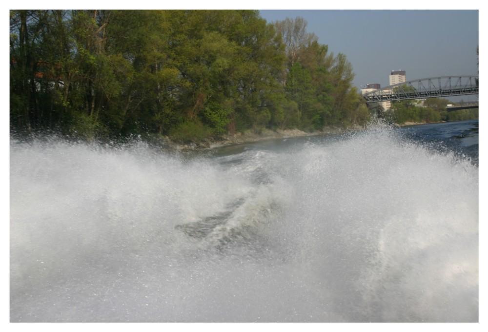 VIel Los im Donaukanal