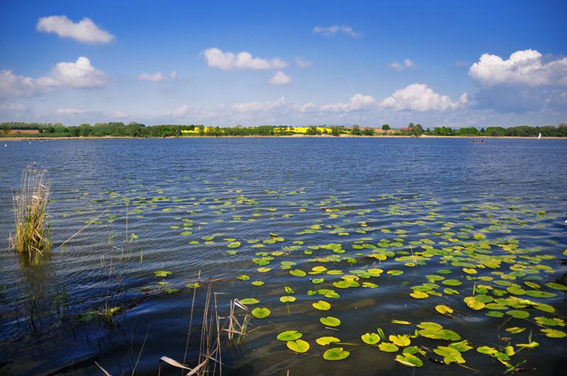 Viel See und viel Landschaft