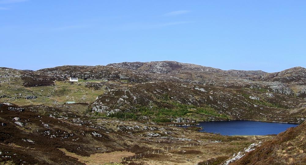 Viel Wildnis in Schottland