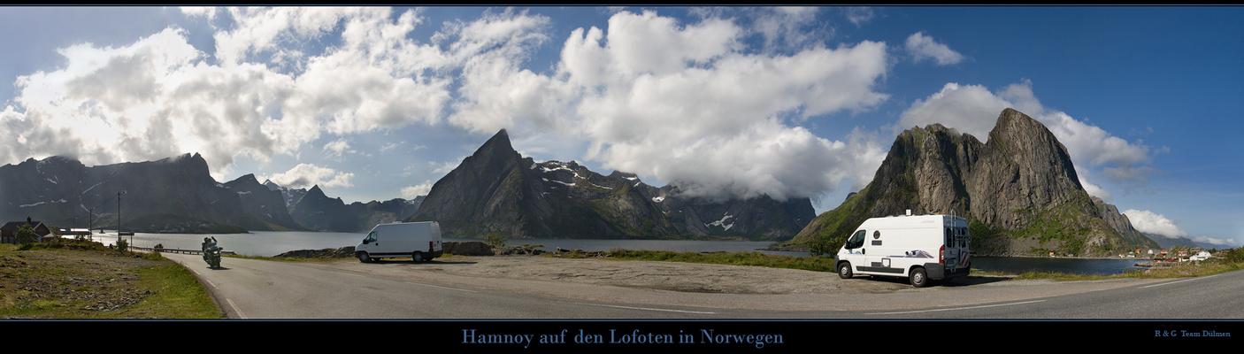 Viele Grüße aus Hamnøy......