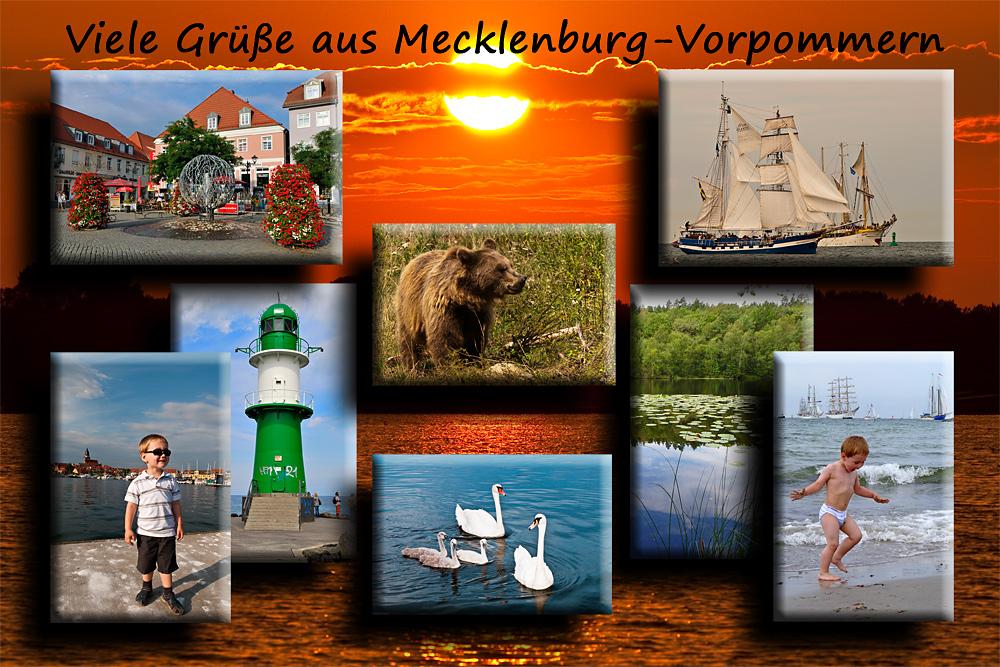 Viele Grüße aus Mecklenburg-Vorpommern