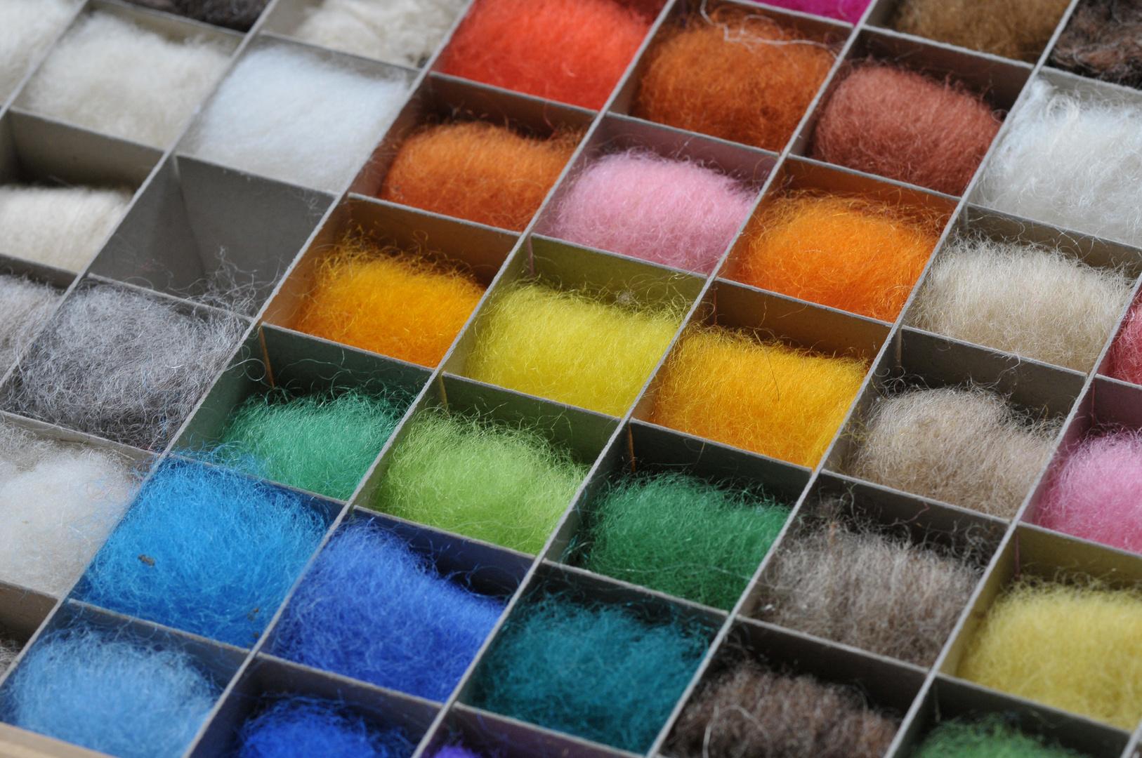 Viele Bunte Farben