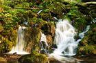Viele Wasserfälle