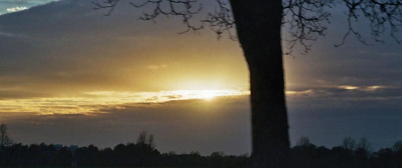 Viele Wolken und ein bisschen Sonne