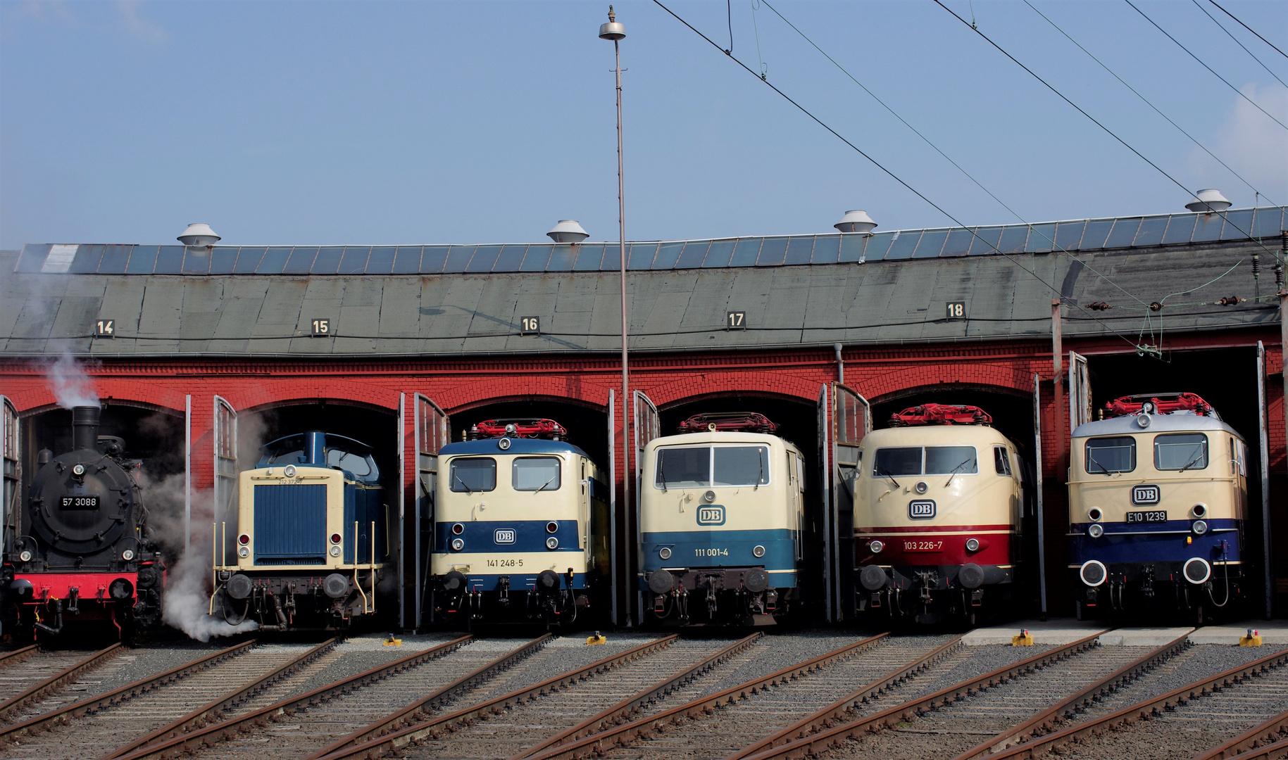 Vielfältige Bundesbahn