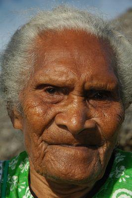 Vielle femme indigène