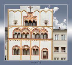Vielle maison colorée à Trèves * Buntes Haus in Trier