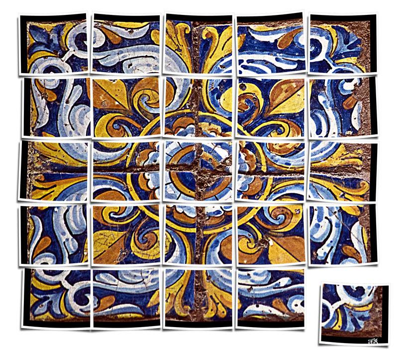 Vielle mosaïque de Campo Santo