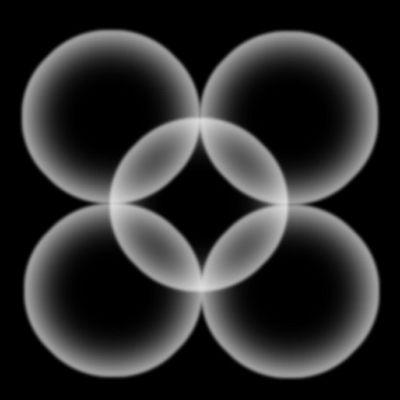 vielleicht Elektronen im Kristall