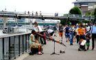 Vielseitige Strassenmusiker