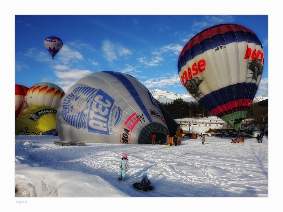 vieni nel mondo meraviglioso delle mongolfiere !