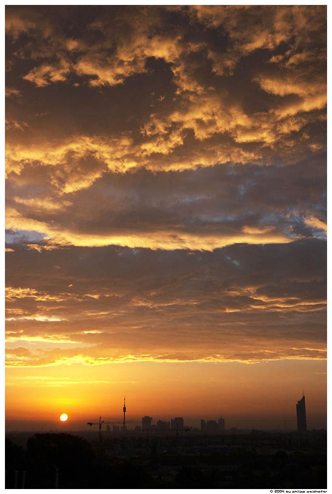 vienna sunrise I
