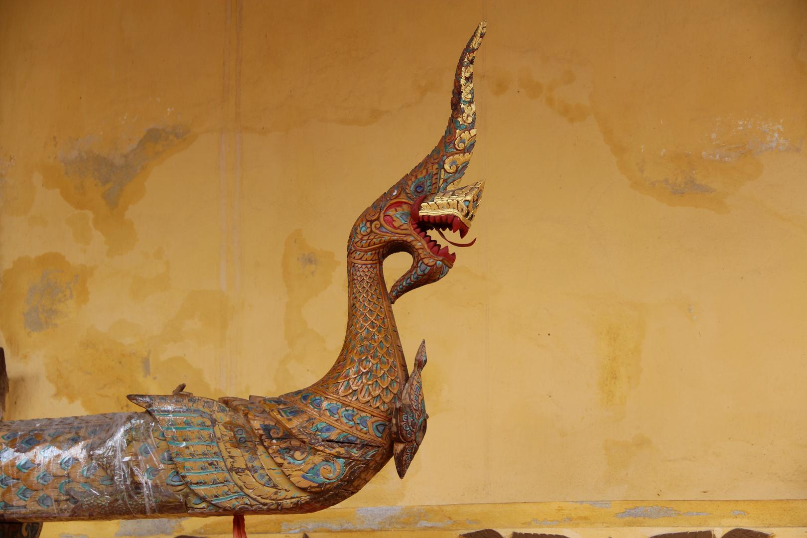 Vientiane - Wat Sisaket - Naga