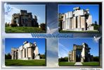 """Vier Ansichten """"Wotruba-Kirche"""""""