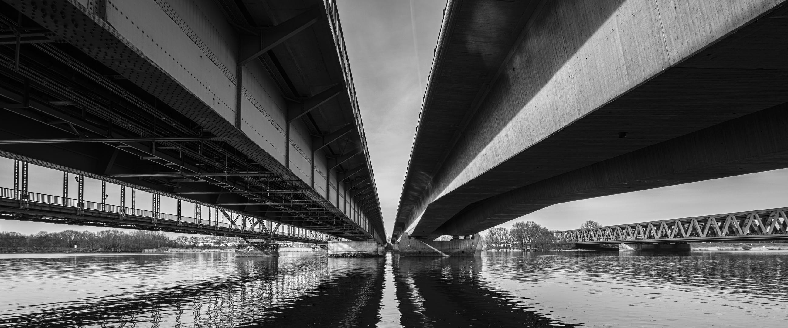 Vier Brücken