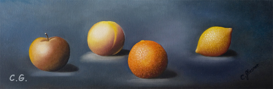 vier Früchte nach Herdin