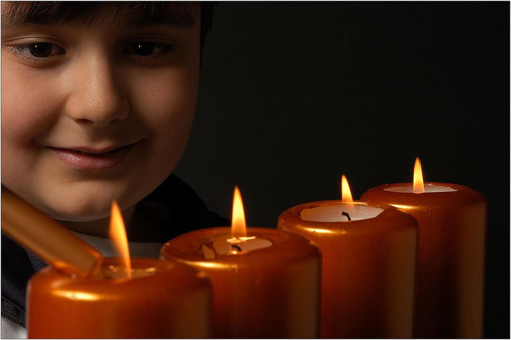 """Vier Kerzen 6/6 """"Die Flamme der Zuversicht"""""""