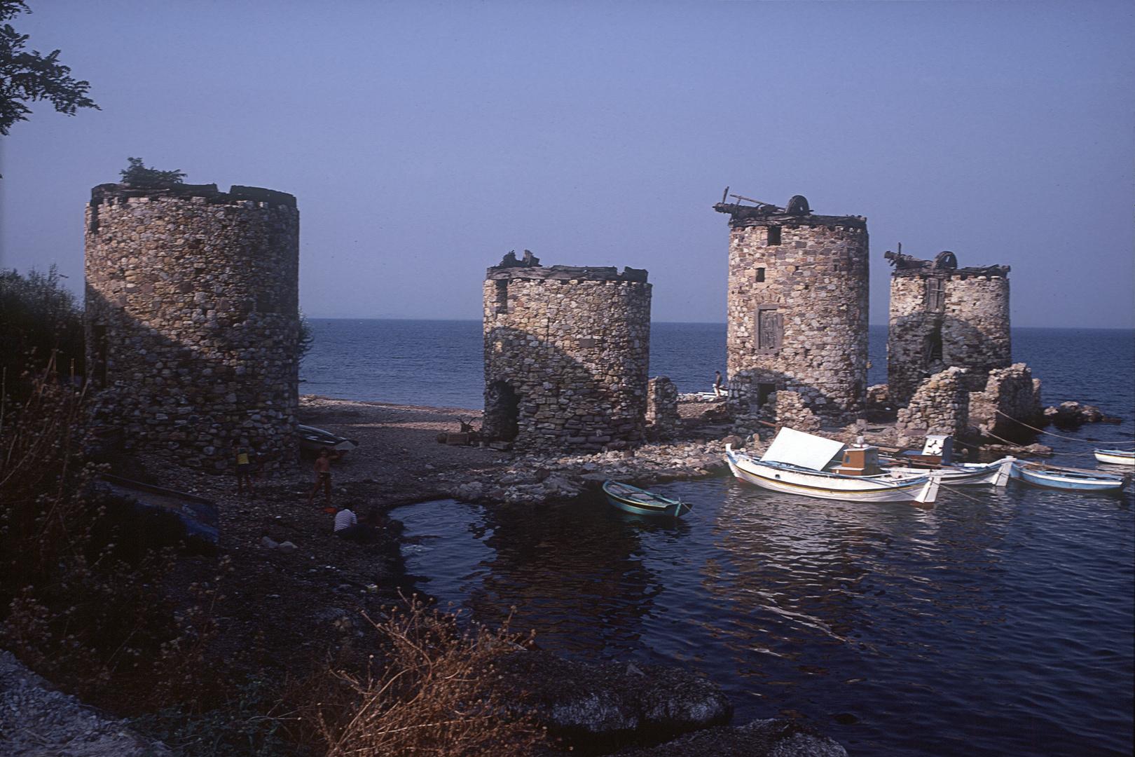 Vier Mühlen von Chios