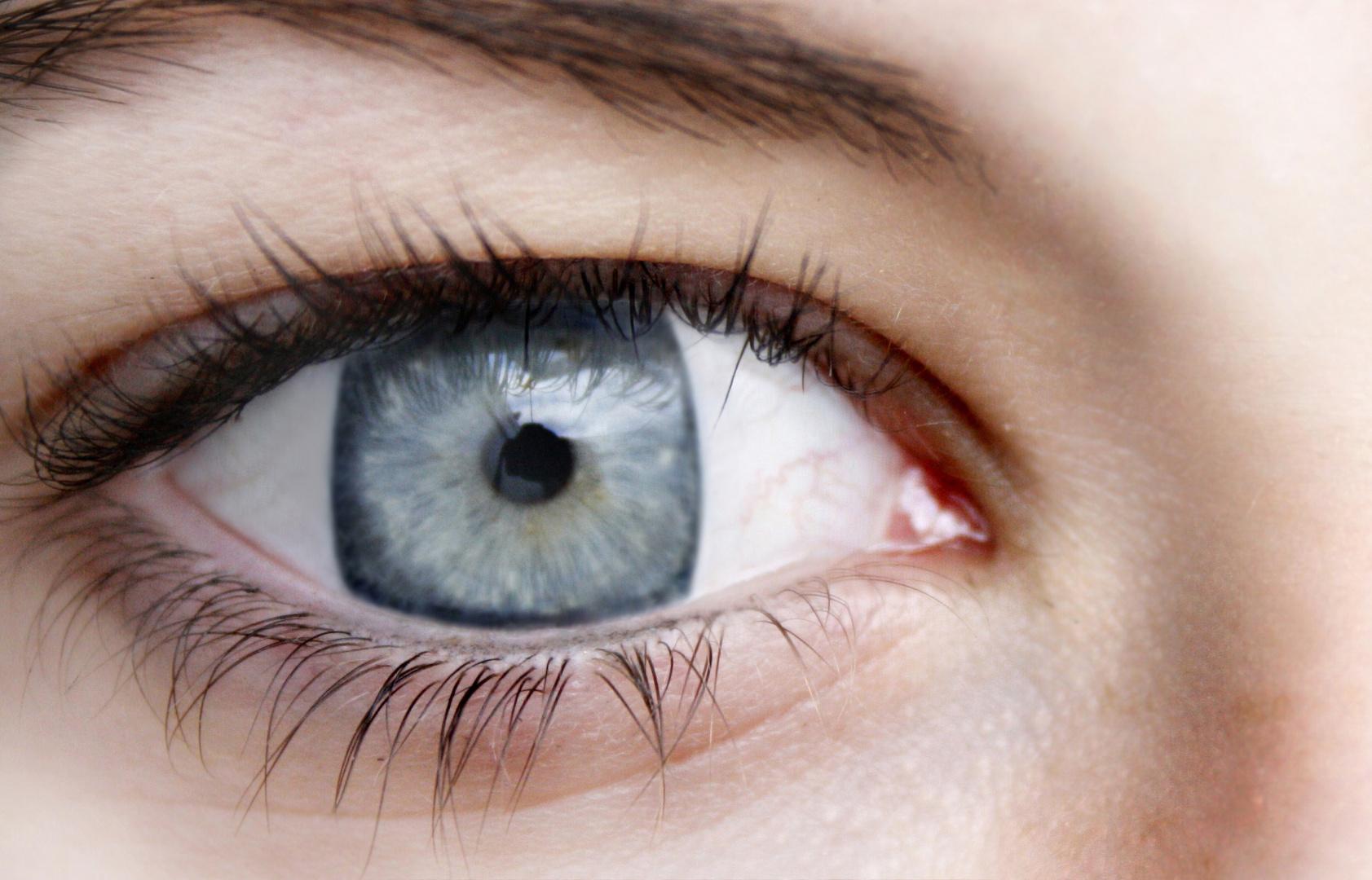 viereckiges Auge