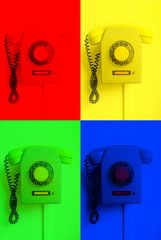 Vierfarbtelefon