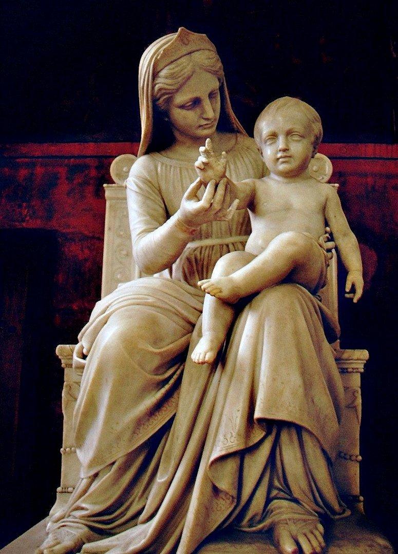 Vierge à l'enfant Cathédrale de Quimper