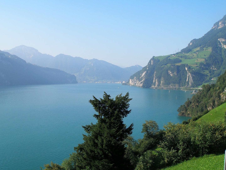 Vierwaldstätter See bei Brunnen