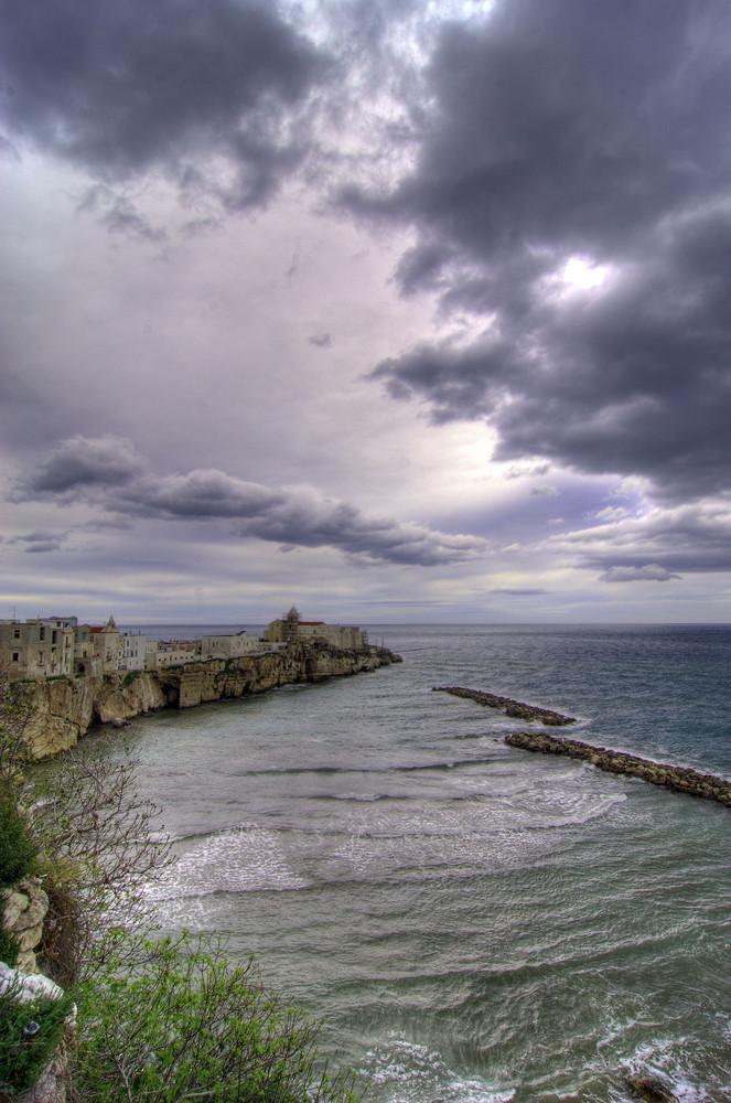 Vieste, Punta San Francesco