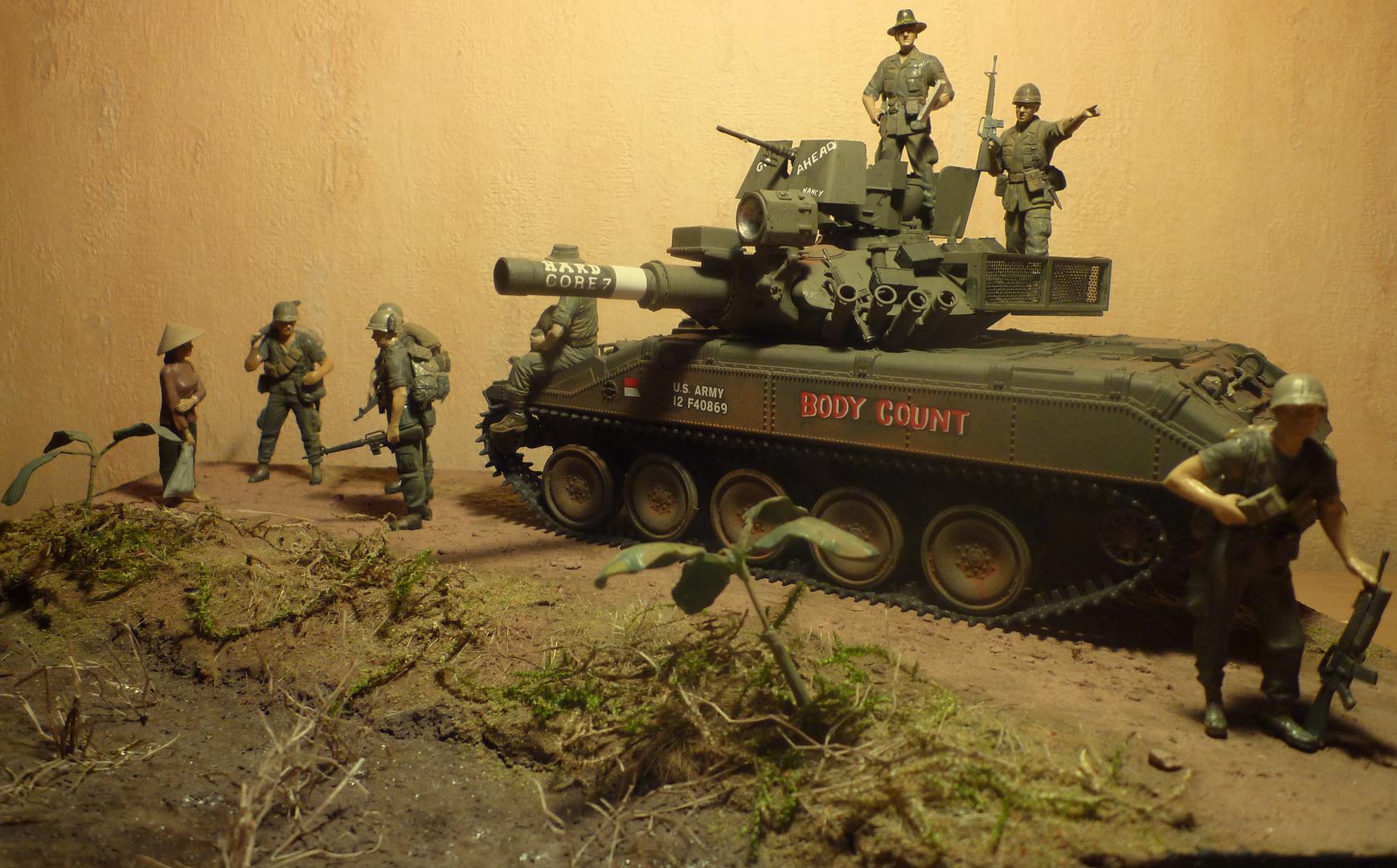 Vietnam-Krieg 1971 - Sheridan 551 Airborne tank
