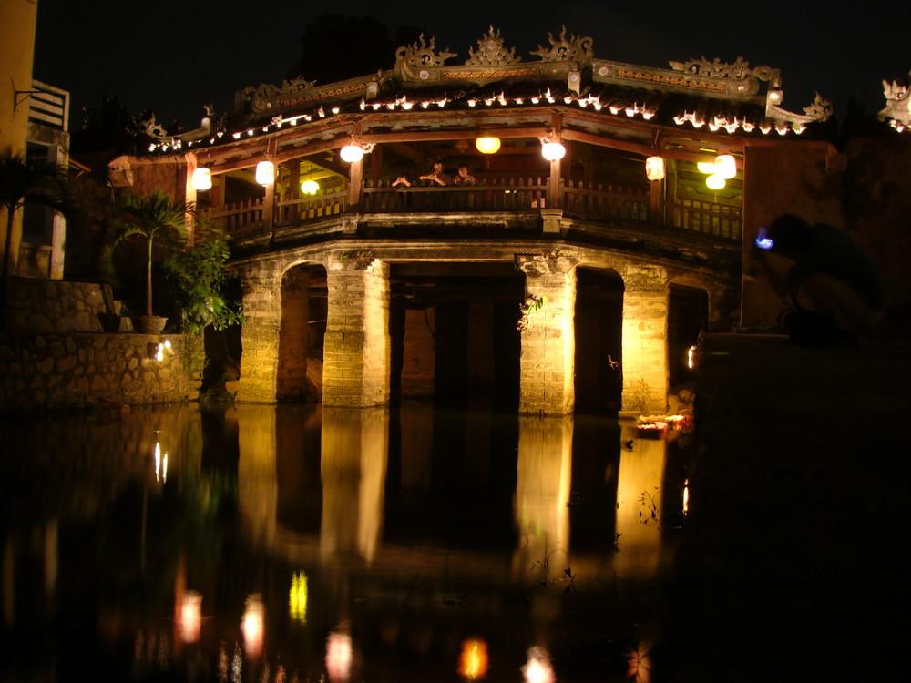 Vietnam : Le pont japonais de Hoi Han