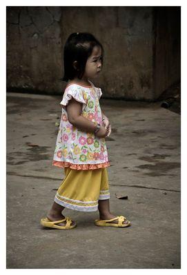 Vietnam - Mekong - Sad Girl 2