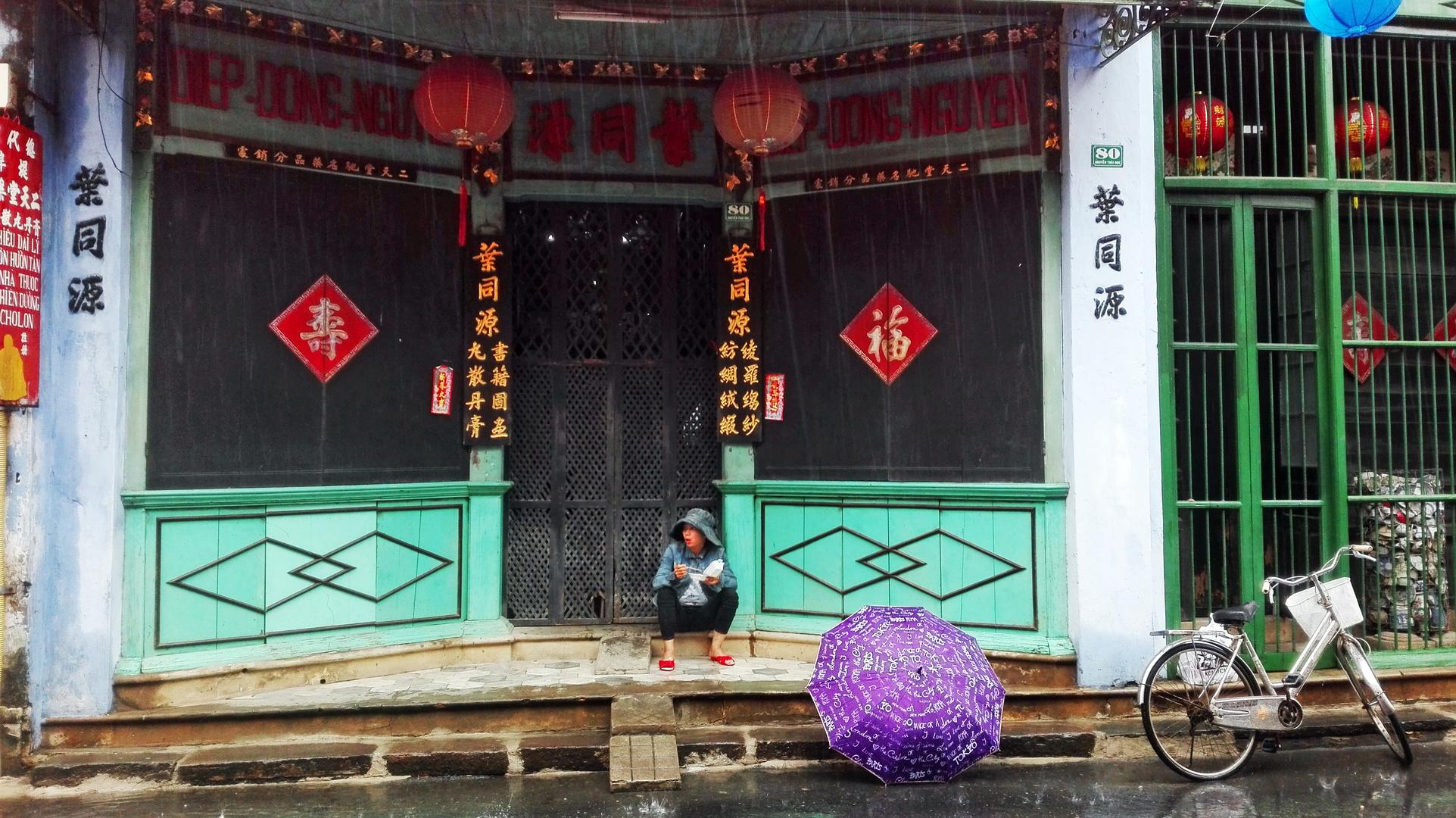 VIETNAM - Pioggia ad Hoi An