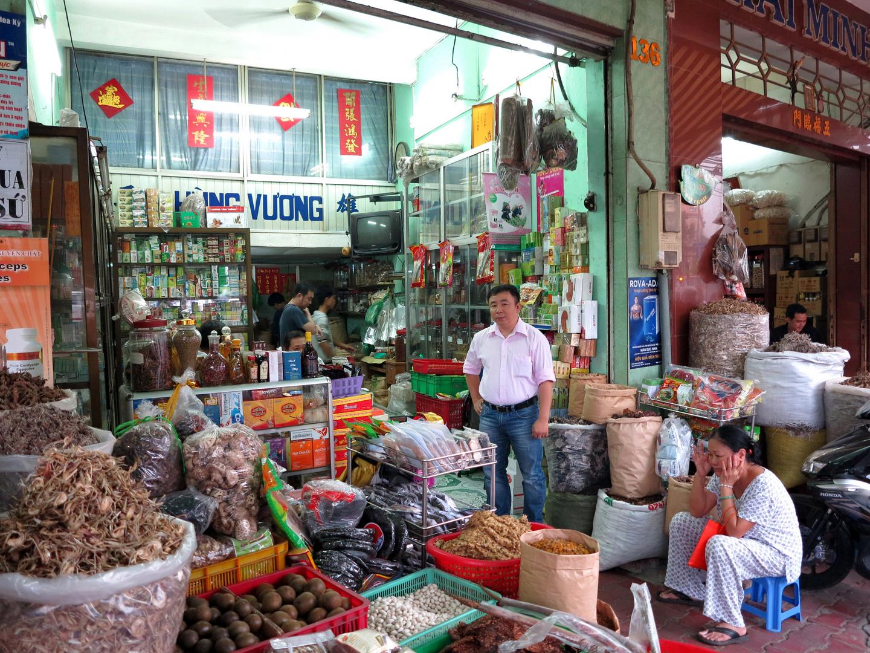 VIETNAM - viel dies & das einkaufen