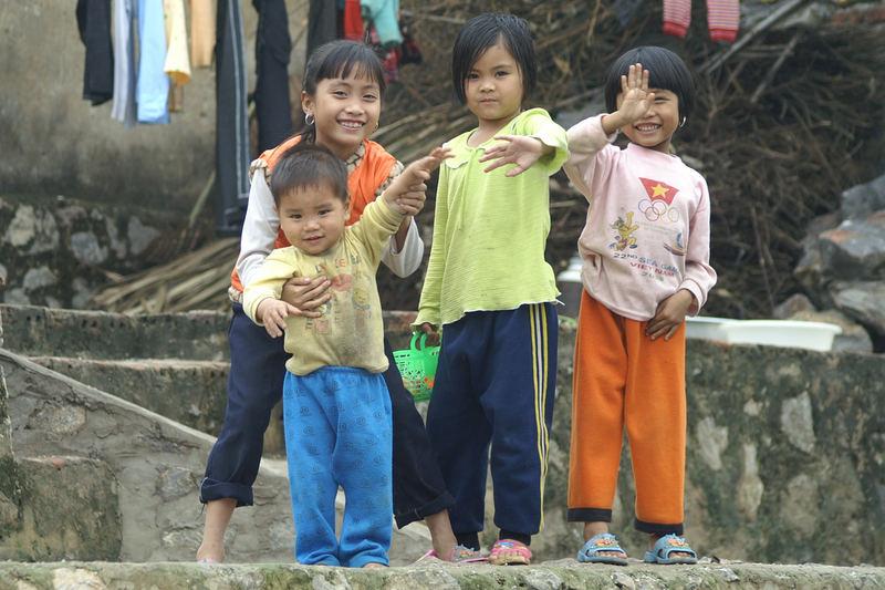 Vietnamesische Kinder (1)