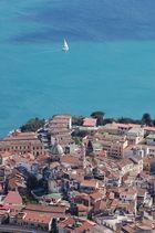 Vietri sul Mare (SA) - Il centro abitato e la chiesa di San Giovanni