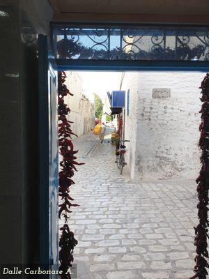 vietta del centro di Houmt Souk
