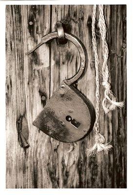 Vieux cadenas