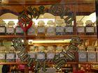 vieux magasin de bonbons anglais