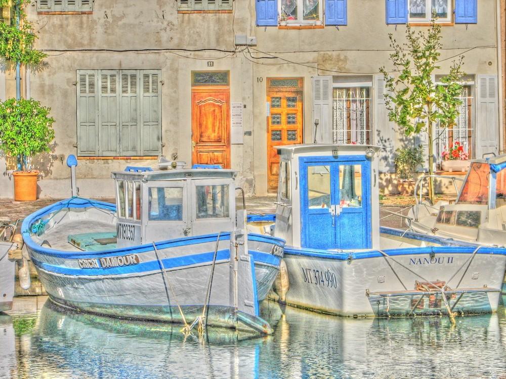 vieux port de Martigues