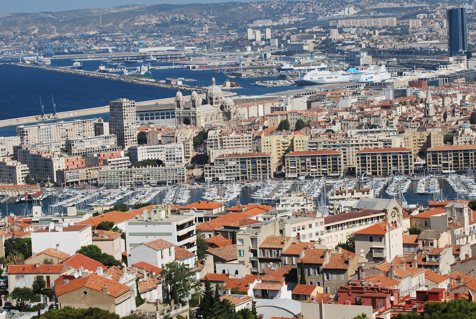 Vieux port et port de Marseille
