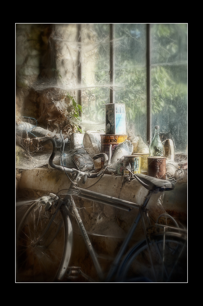vieux vélo, vieilles toiles...
