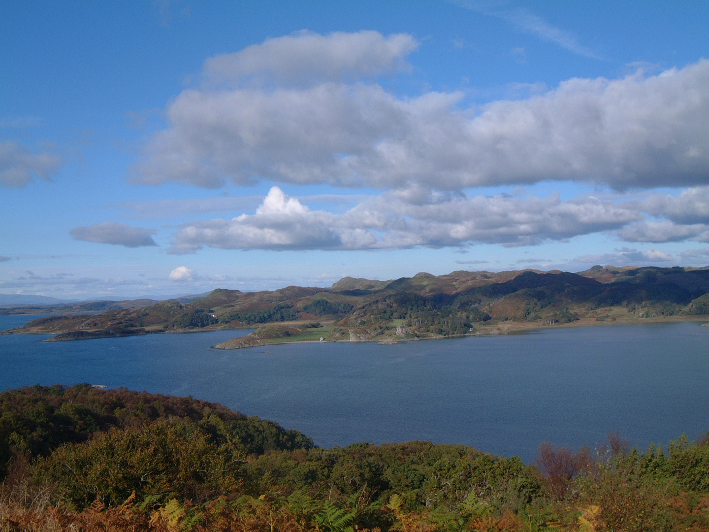 View from Brolas to Ardmeanach, both on Island of Mull