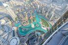 ...view from Burj Khalifa...